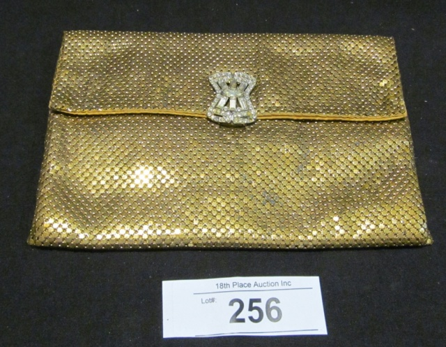 Vintage Whiting & Davis Gold Mesh Clutch