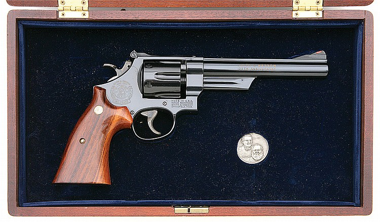 Smith & Wesson model 25-3 125th Anniversary commemorative revolver