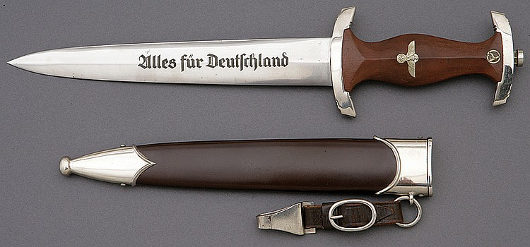 German S.A. 1933 Pattern Dress Dagger by Carl Eickhorn