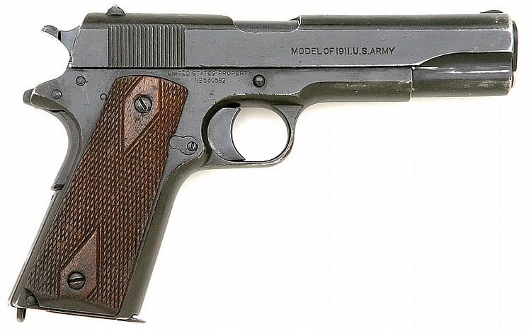 U.S. model 1911 pistol by Colt