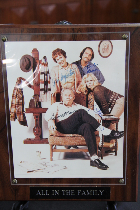 Cast Signatures- All In The Family