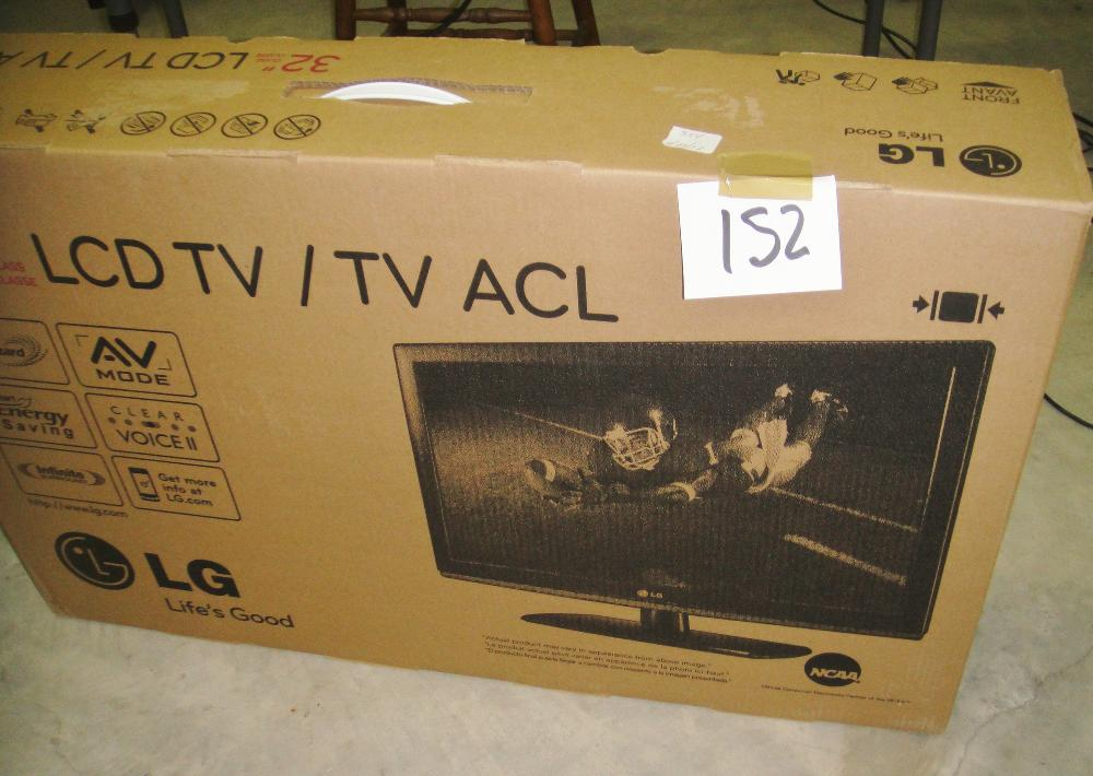 "32"" LCD TV LG NEW IN THE BOX"