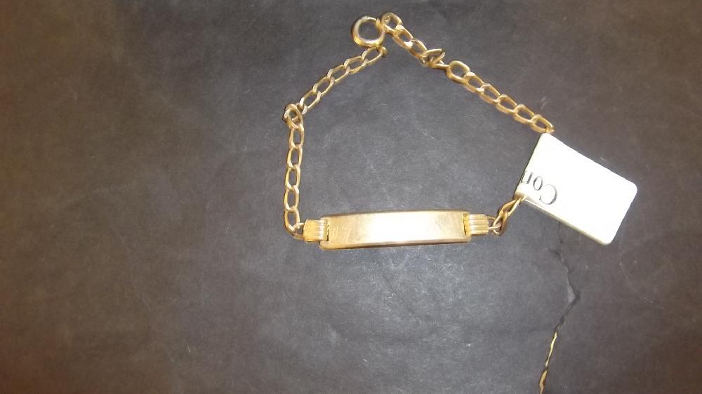 3.2G 10k Gold Bracelet