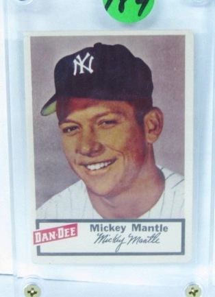 Dan-Dee Potato Chip Baseball Card - Mantle