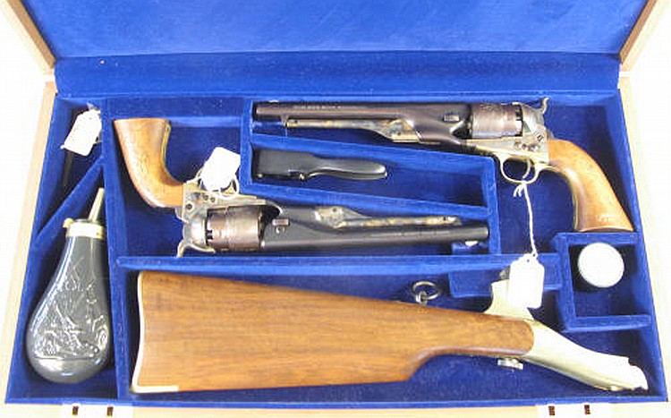 COLT COMMEMORATIVE PERCUSSION REVOLVER. U.S>