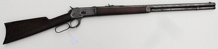 WINCHESTER MODEL 92 LEVER-ACTION RIFLE. Cal.