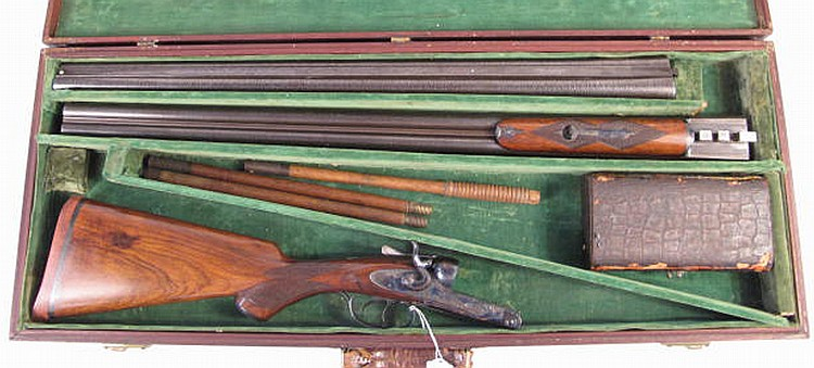 CHARLES PARKER CASED TWO-BARREL SET OF DOUBLE