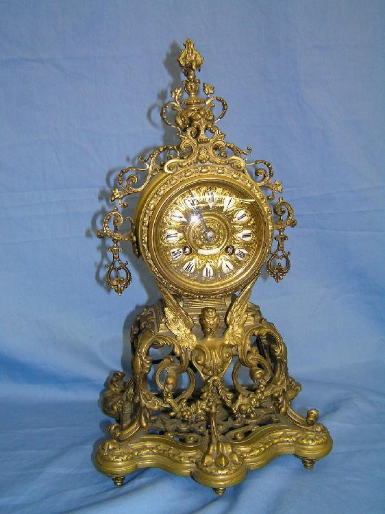 Tiffany & Co. French case mantel clock
