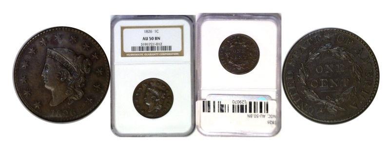 1826 Large Cent