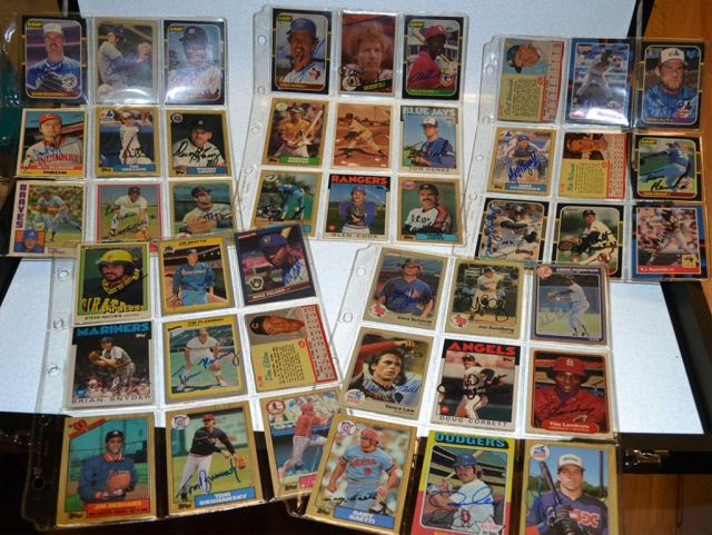 huge lot autographed baseball cards, paper, etc: Red Sox, Boudreau, Mize, Feller, Billingham, garagiola, Spahn++