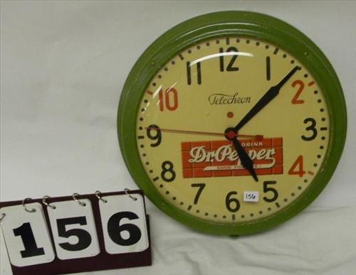"Dr. Pepper ""Good For Life"" Clock"