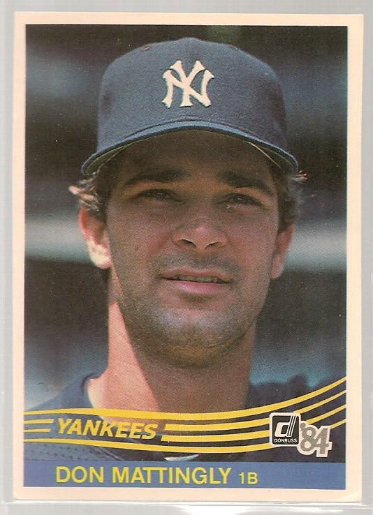 1984 Donruss Don Mattingly RC