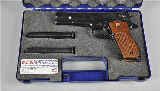 Smith & Wesson Model 52-2 Pistol Registration required.