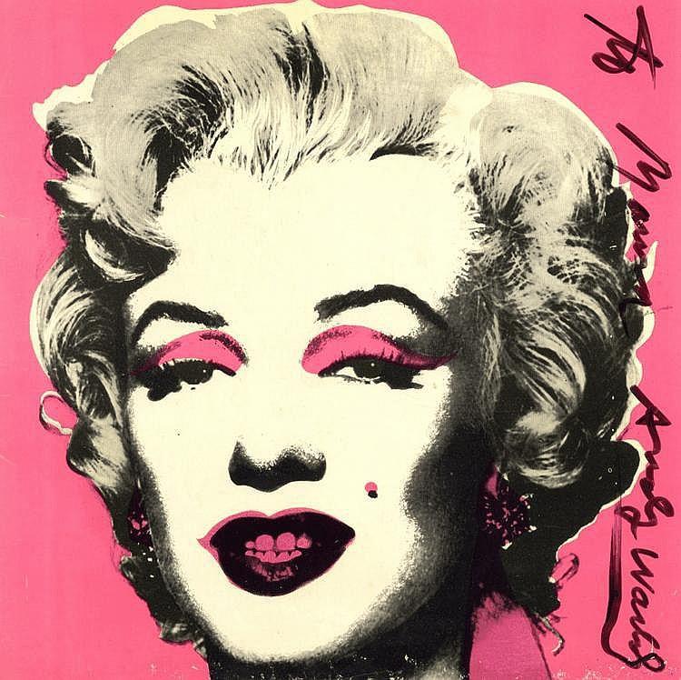 WARHOL ANDY: (1928-1987) American Pop Artist. A
