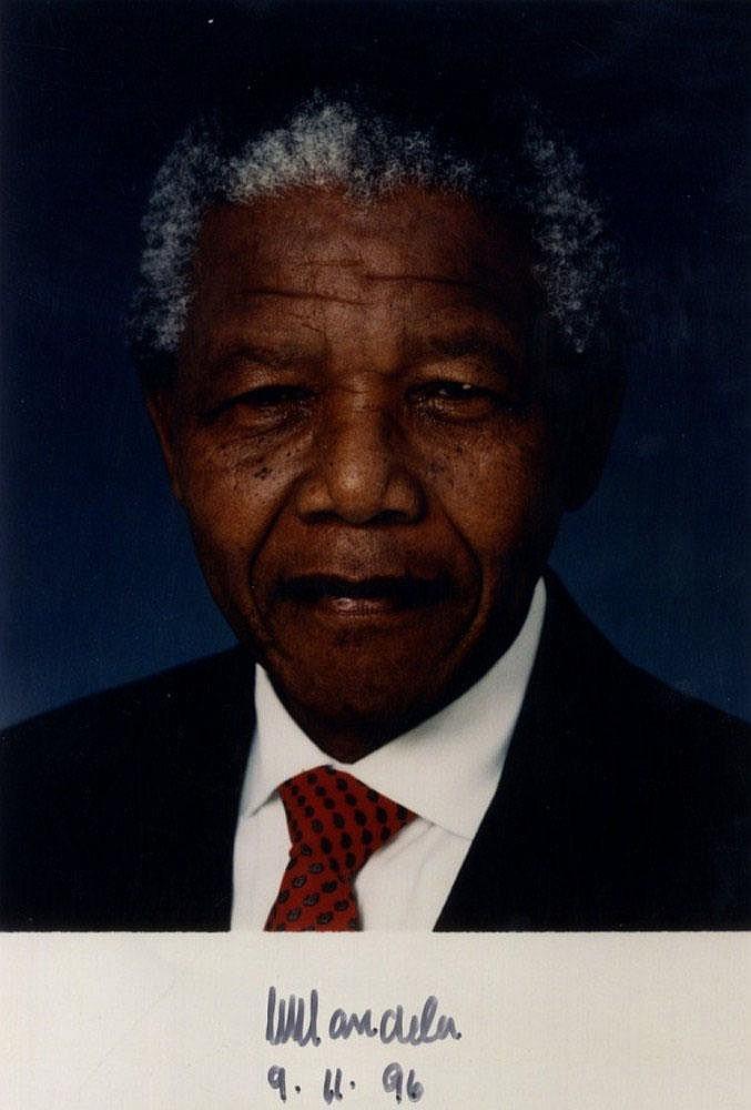 MANDELA NELSON: (1918-) President of South Africa
