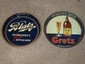Blatz Brewery and Gretz Brewery Beer Trays (2)