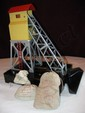 "Lionel No. 97 Electric Coal Elevator with (2) No. 206 Bags of ""Coal"""