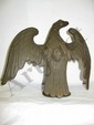 Antique Cast Bronze Eagle Pole Topper