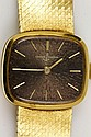 18K Gold Ulysses Nardin Watch