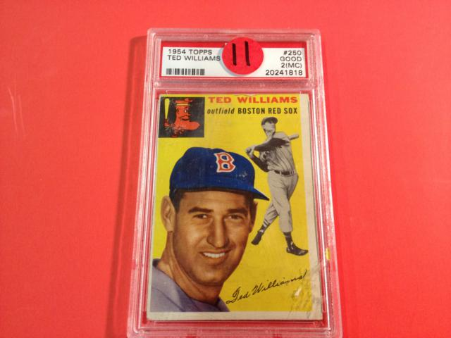 1954 Topps Ted Williams Graded - Good
