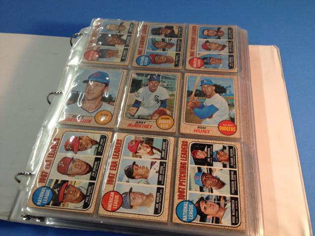 1968 Topps Baseball Partial Set