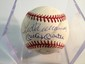 4 Baseball Autographs for one $ - Mickey Mantle, Ted Williams, Willie Mays, Hank Aaron, w/COA