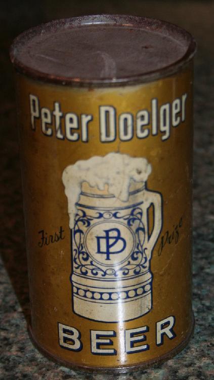 Peter Doegler Beer Display Only Beer Can
