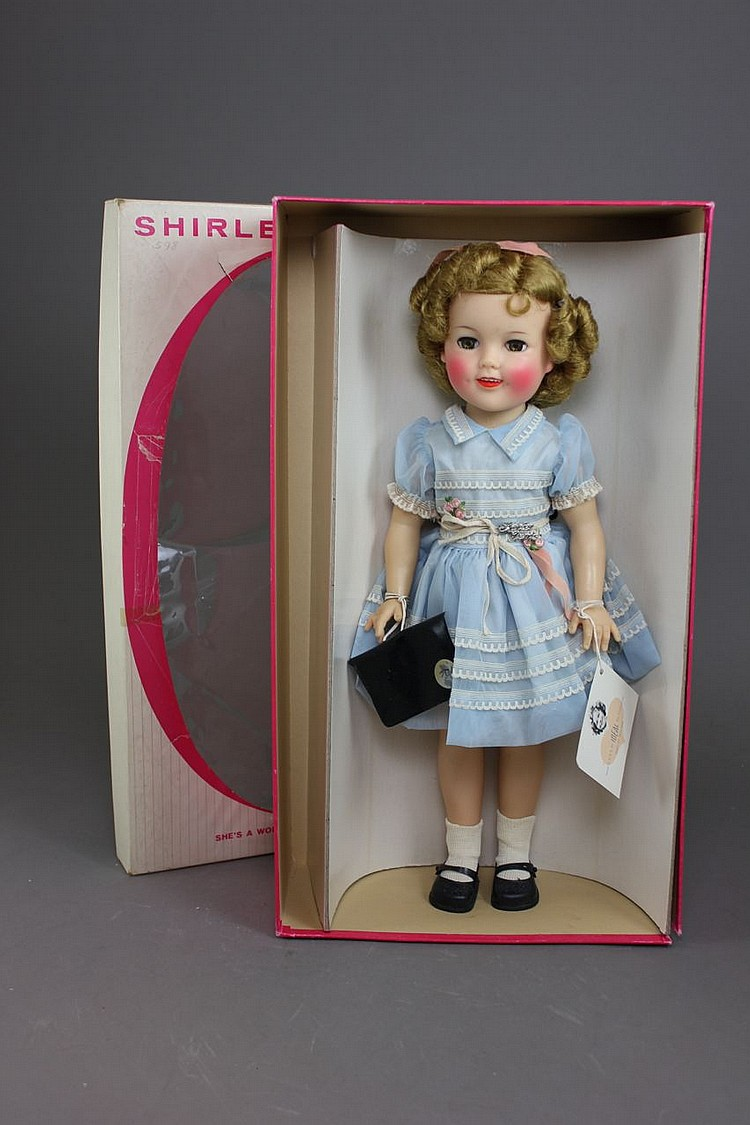"17"" IDEAL VINYL SHIRLEY TEMPLE"