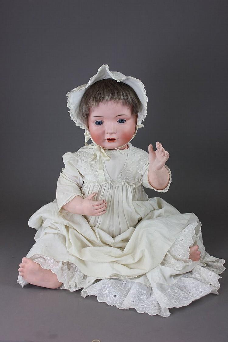 "27"" BAHR & PROSCHILD #585 CHARACTER BABY"