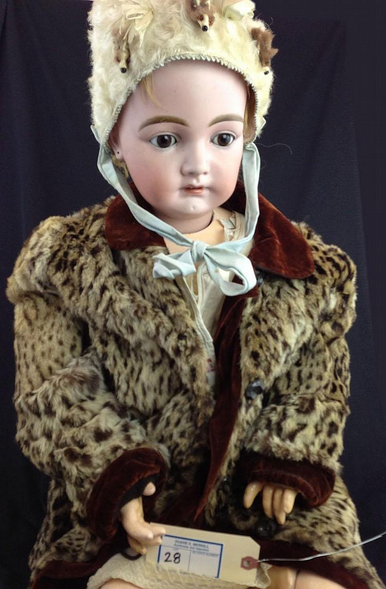 Kammer & Reinhardt 192 bisque doll- mkd 22, socket