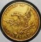 $5.00 Classic Head Gold Half eagle