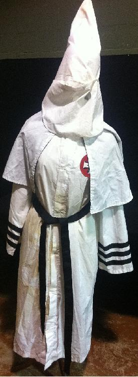 1964 Ku Klux Klan Robe & Hood w/ Alabama Patch
