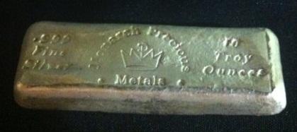 10ozt .999 Fine Silver Monarch Precious Medals