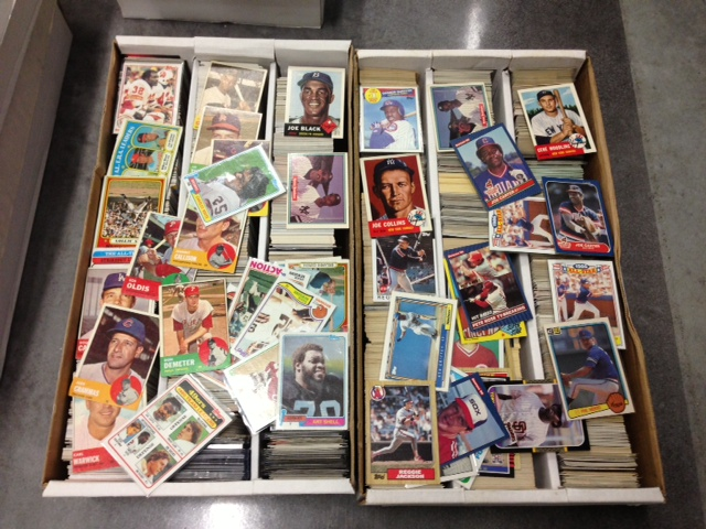 2 Large Boxes of Un-Searched Sports Cards