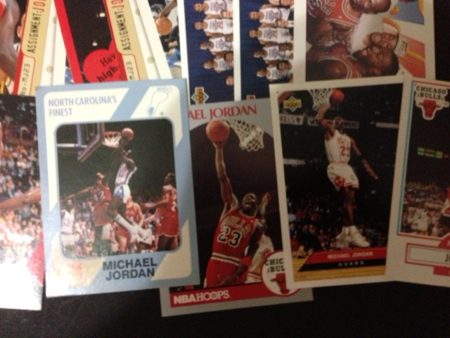 Lot of 61 Mint Michael Jordan Cards