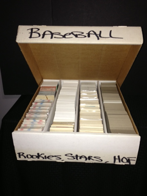 Large Un-Searched Baseball Card Collection