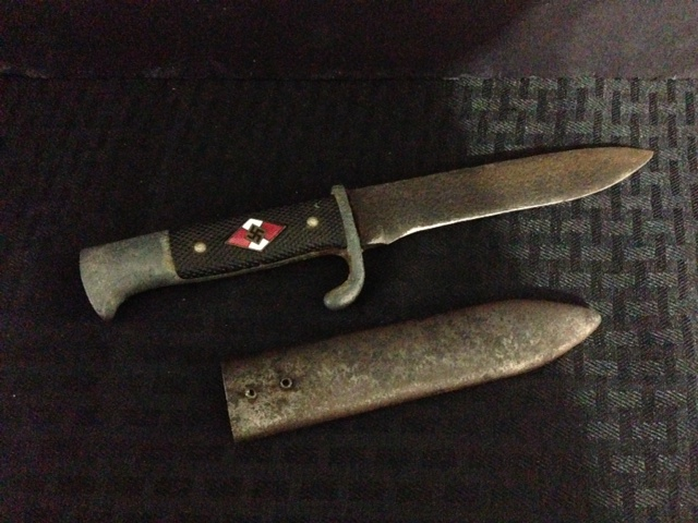 Genuine Nazi Battle Knife