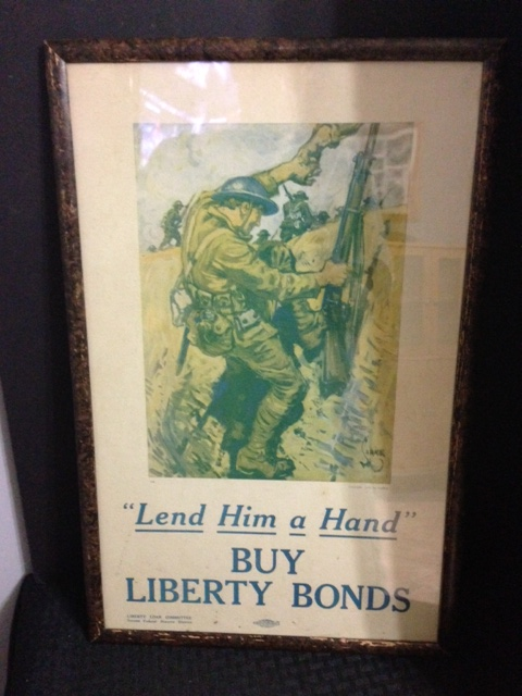 WW1 Buy Liberty Bonds War Poster