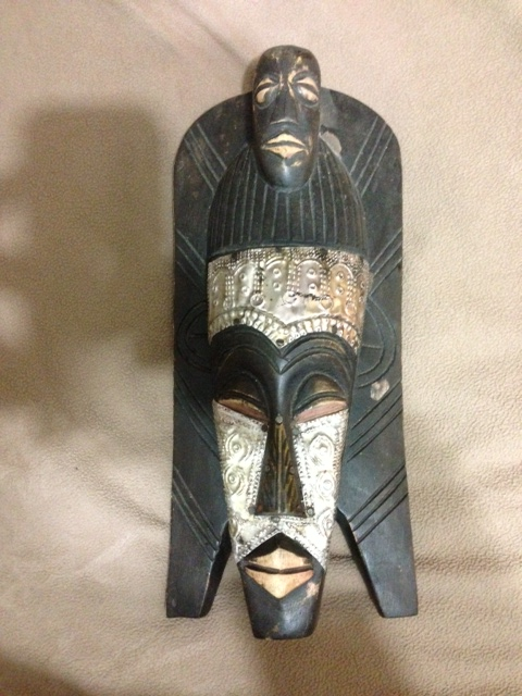 Genuine Hand Crafted Vintage African Tribal Mask