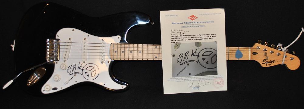 B.B. King hand signed Guitar