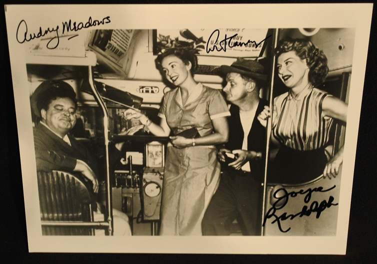 The Honeymooners B&W Photo Hand Signed