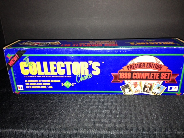 1989 Upper Deck Inaugural Factory Baseball Set
