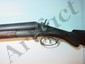 "W. Richards 12ga double barrel shotgun, side lever, hammers, 48"" long"