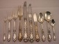 97 pc. Alvin Prince Eugene Sterling flatware service for 8, 10 piece place setting, 103ozt. Weighable, fitted box