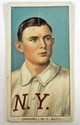 1909-11 T206 DOC CRANDALL - NEW YORK BASEBALL CARD W/ PIEDMONT CIGARETTE BACK