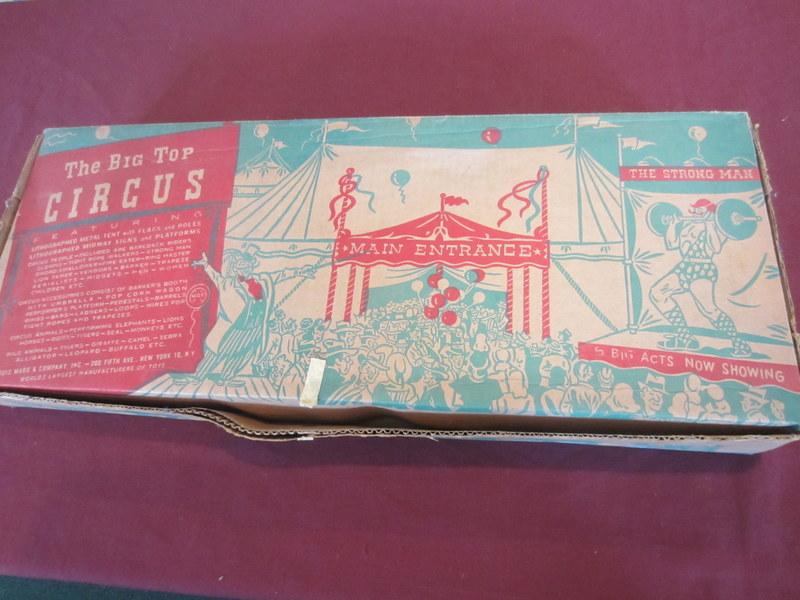 Marx Big Top Circus Set