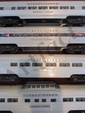 Lot of Eight Lionel Passenger Cars