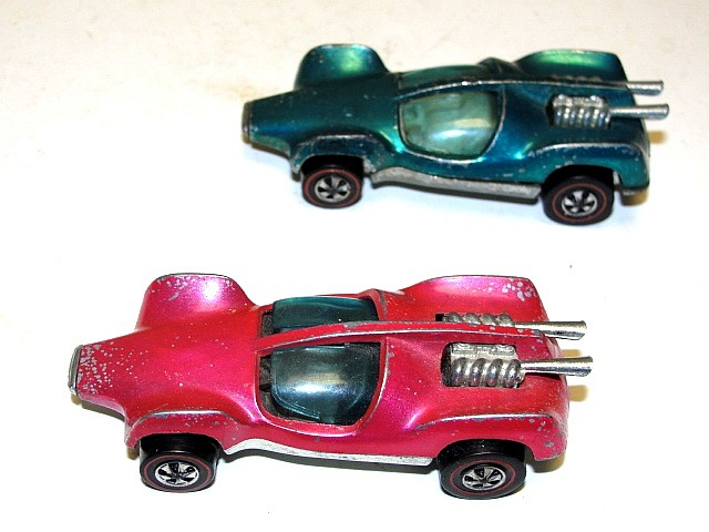 Mattle Hot Wheels Redliners 1969 Hong Kong