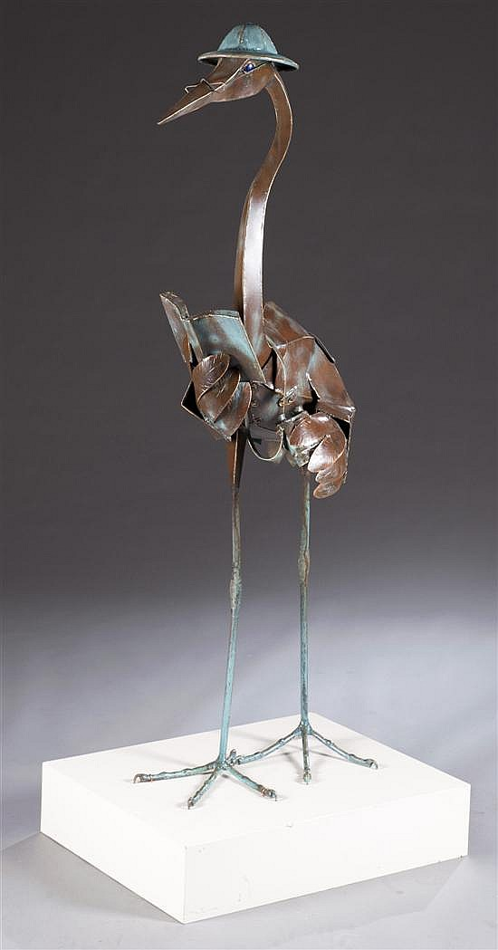 "Barry Norling Sculpture, ""Human Watcher"", 1997-1998"
