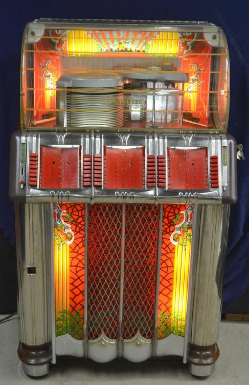 1952 Wurlitzer Model 1250 Juke Box